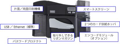 カードプリンタDTC4500e 仕様図