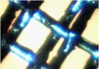 銅錫メッキスパイラル 平織り金属布(110μm)